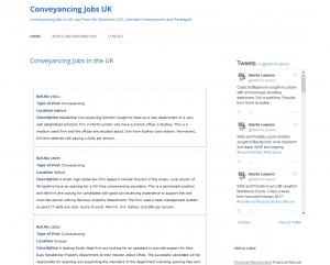 Conveyancing Jobs