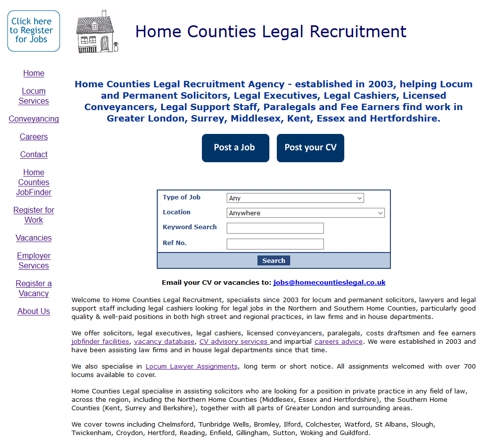 Home Counties Legal Recruitment