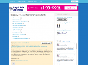 Lawyer Recruitment Directory