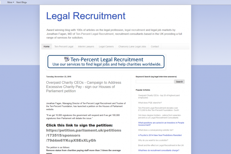 Legal Recruitment Blog