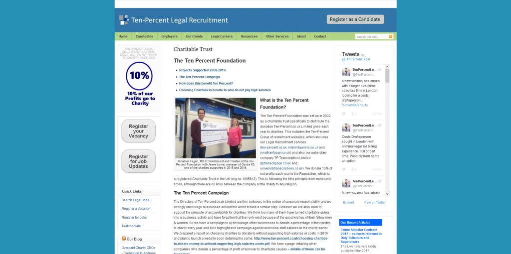 The Ten Percent Foundation