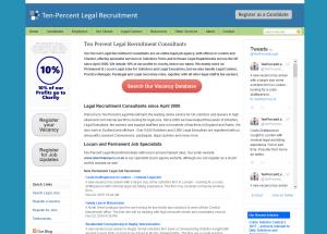 Ten Percent Legal Recruitment