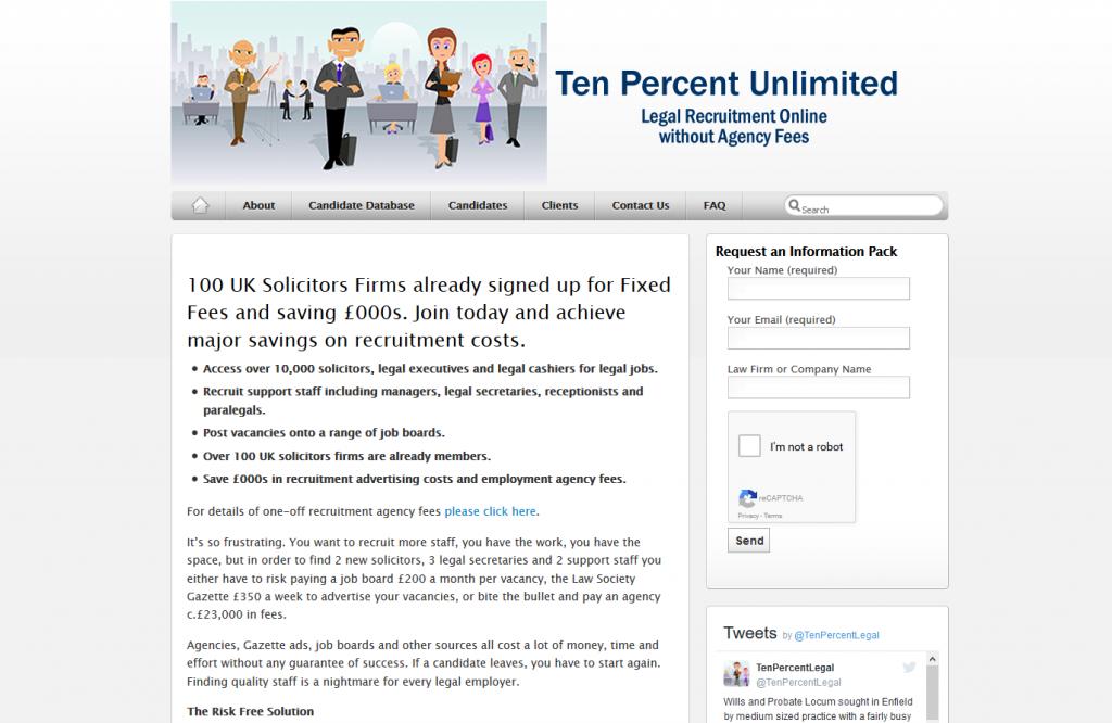 Ten Percent Unlimited