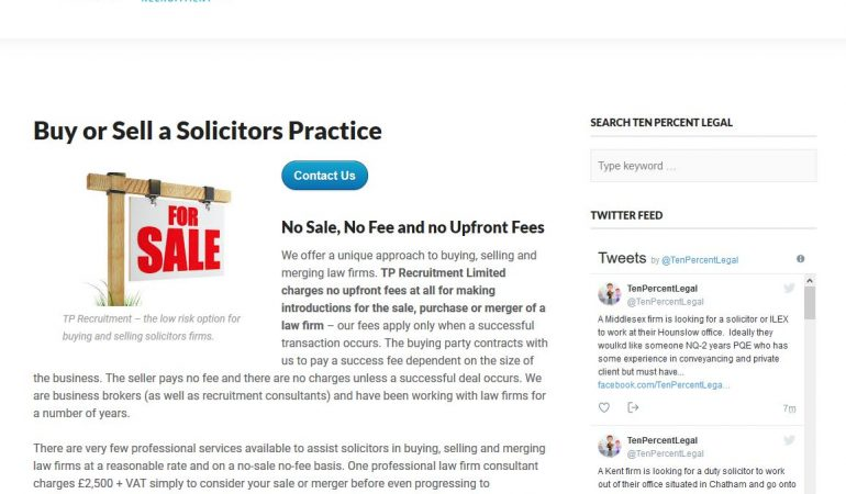 Law Firm Sales