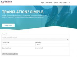University Translations